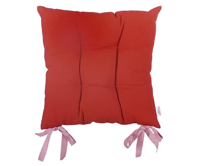 Polštář na sezení Pure Red 37x37 cm