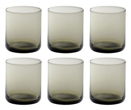 Сервиз 6 чаши за вода Bloom Fume 250 мл
