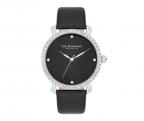 Дамски ръчен часовник Joh. Rothmann Dagny Black Ebony