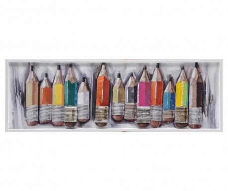 Slika Crayons 40x120 cm