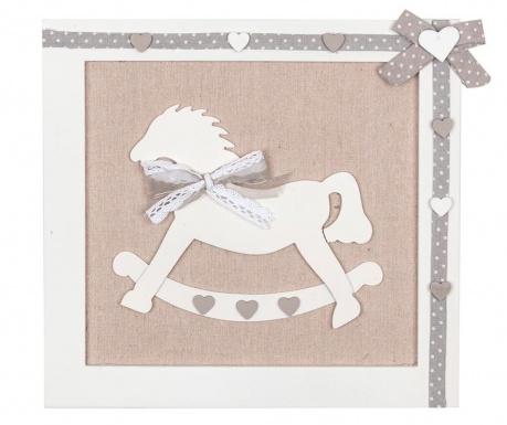 Стенна декорация Rocking Horse Grey