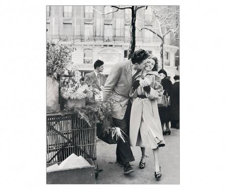 Tablou Les amoureux aux Poireaux 47x62 cm