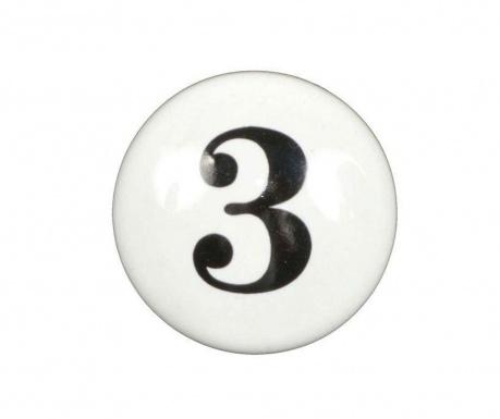 Buton pentru sertar Number Three