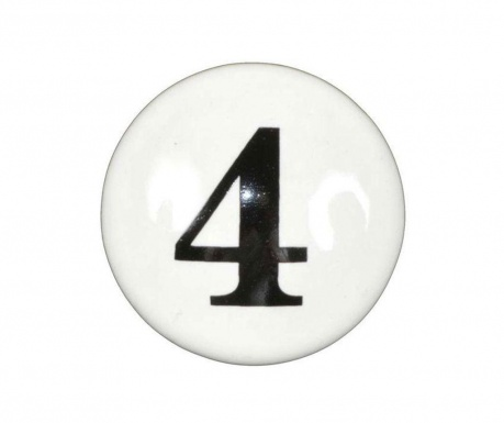 Number Four Fiókgomb