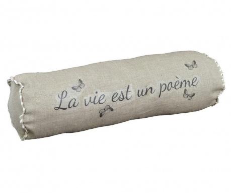 Декоративна възглавница La Vie Est 14x48 см