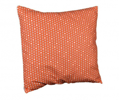Perna decorativa Flowers Orange 40x40 cm