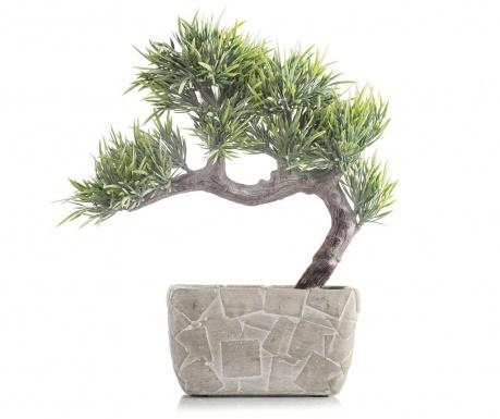 Umjetna biljka u posudi za cvijeće Bonsai