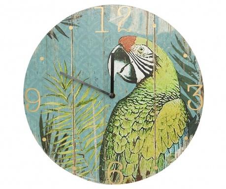 Ceas de perete Palm Parrot