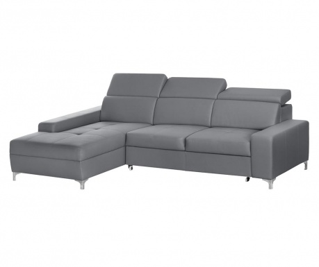 Разтегателен ляв ъглов диван Cardigan Grey