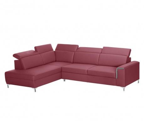 Ляв ъглов диван Serafino Red