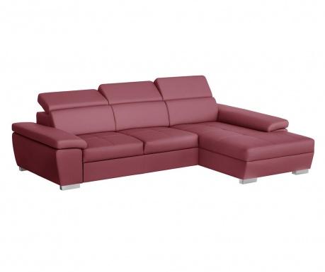 Десен ъглов диван Twinset Red