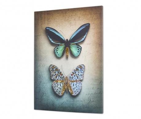Tablou Butterflies 100x140 cm