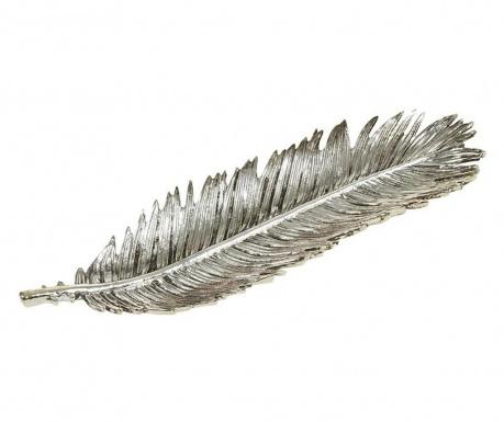 Ukrasni pladanj Palm Leaf Silver