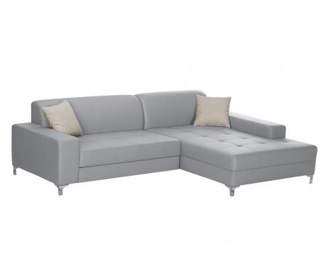 Десен ъглов диван Symbole Grey