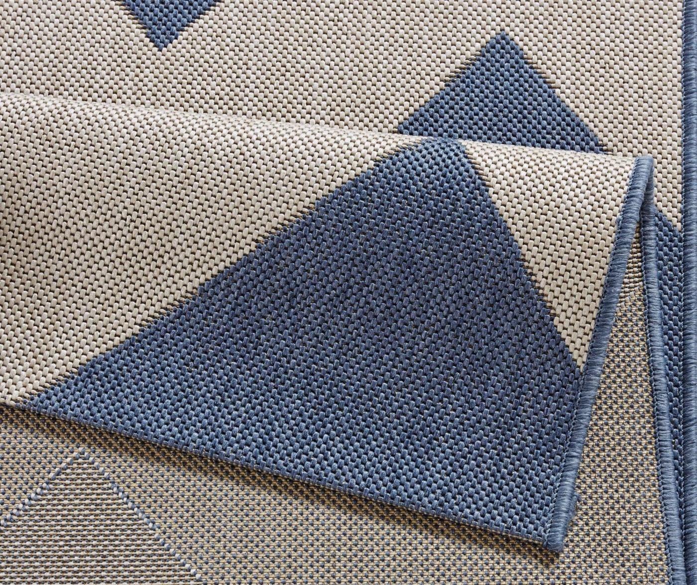 Tepih za vanjski prostor Meadow Unique Blue 120x170 cm