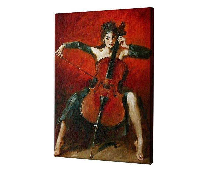 Slika Red Symphony by Andrew Atroshenko 40x60 cm