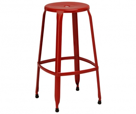 Bar stool Disco Red