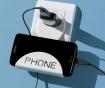 Set 2 suporturi pentru telefon Charging White
