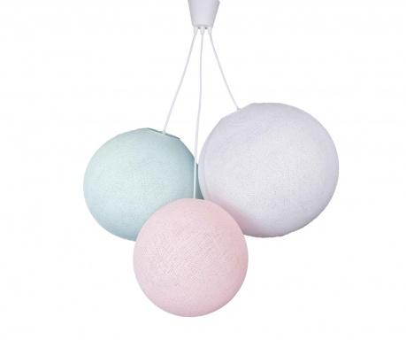 Lustra Triple Pink Aqua White
