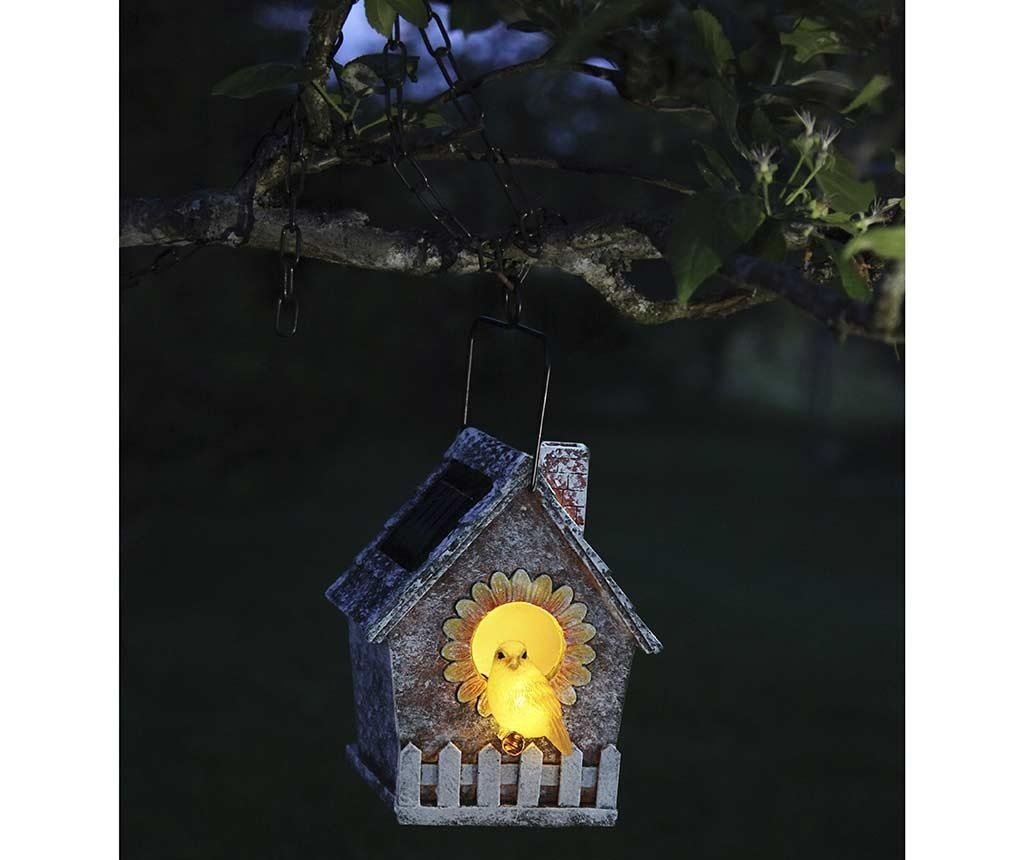 Lampa solara Bird House