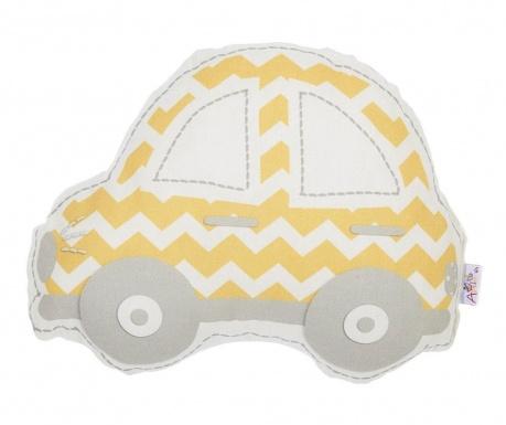 Perna decorativa Car Yellow 25x32 cm