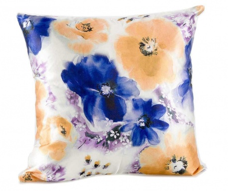 Perna decorativa Blue Roses 45x45 cm