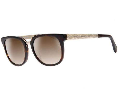 Okulary przeciwsłoneczne damskie Emilio Pucci Gradient Butterfly Brown