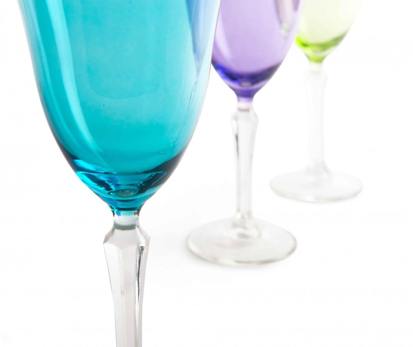 Crystal Color 6 db Talpas pohár 320 ml
