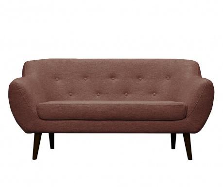 Canapea 2 locuri Piemont  Rose
