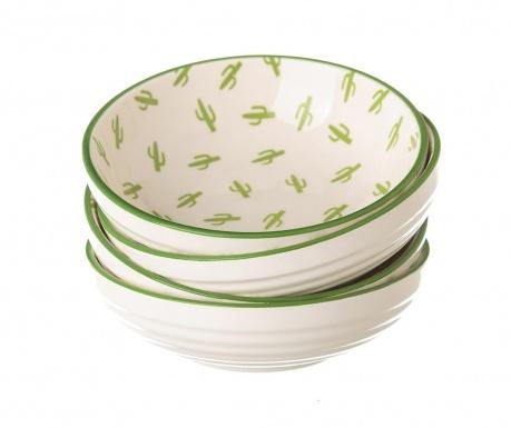 Set 4 zdjele za predjela Cactus Tall Green