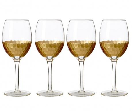Zestaw 4 kieliszków do wina białego Astrid 300 ml