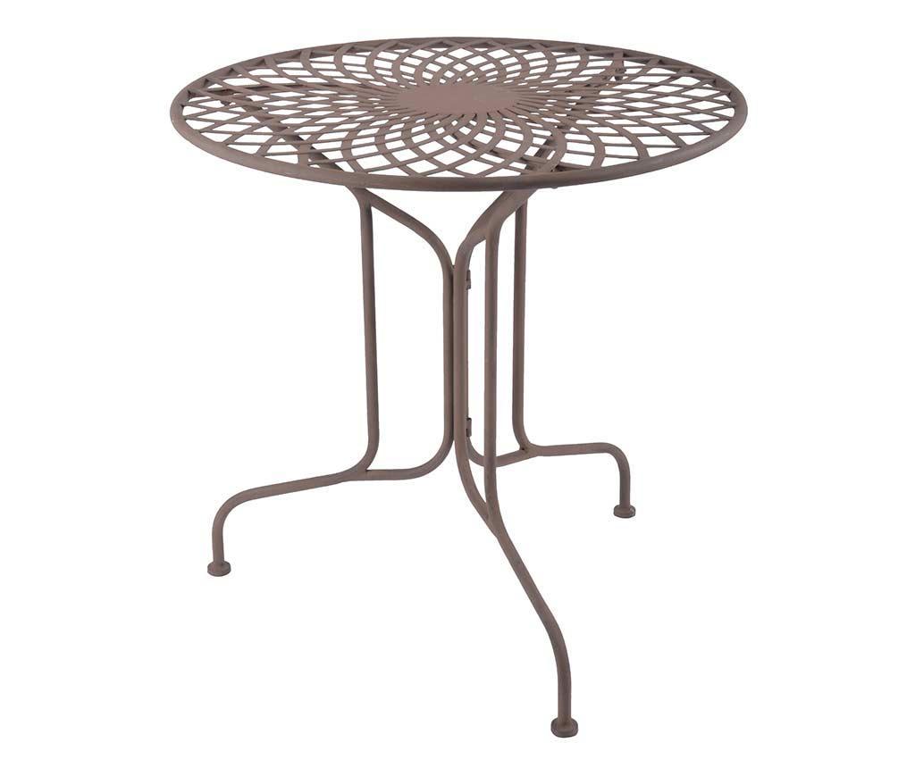 Masa pentru exterior Patterns - Esschert Design, Maro