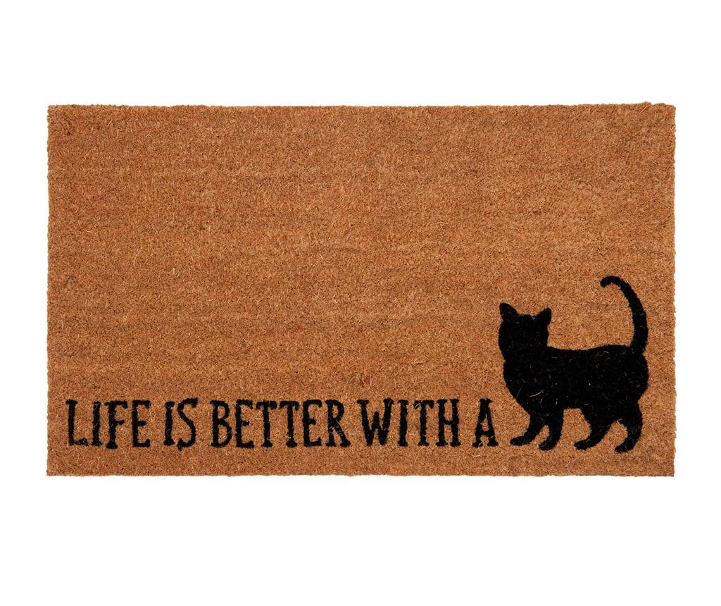 Covoras de intrare Better Cat 45x75 cm - Clayre & Eef