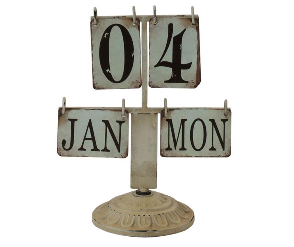Calendar Stand - Bolzonella, Gri & Argintiu