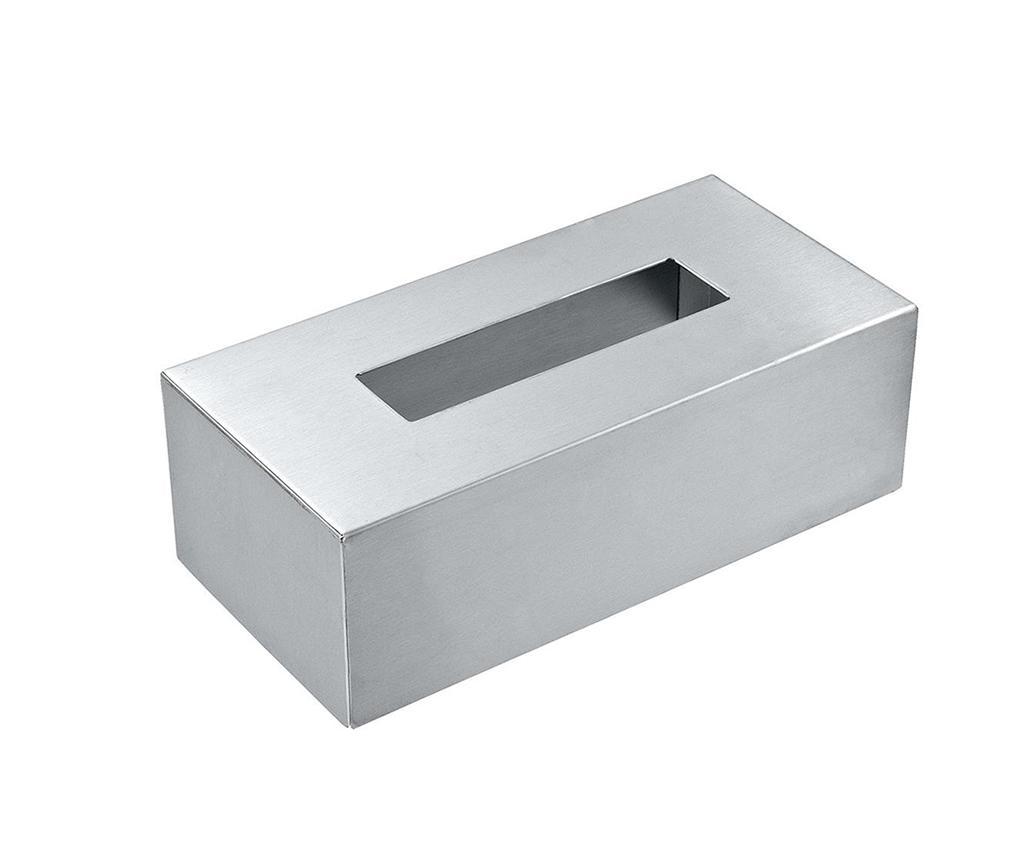 Masca pentru cutia de servetele Damien - Wenko, Gri & Argintiu