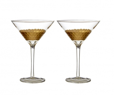 Set 2 kozarcev za cocktail Astrid 250 ml