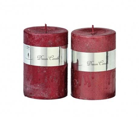 Комплект 2 свещи Metallic
