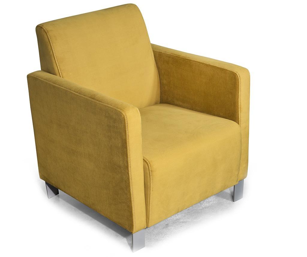 Fotelj Miami Mustard