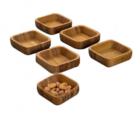 Set 6 boluri pentru aperitive Hemp Snacks