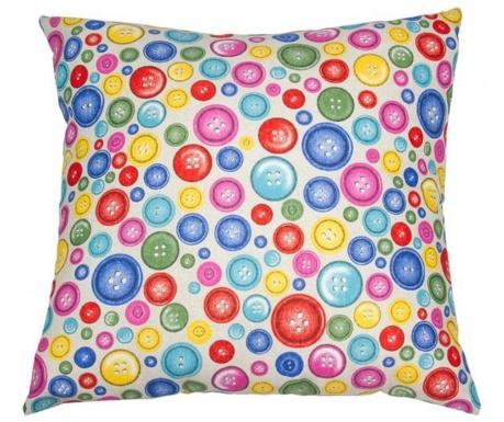 Perna decorativa Multicolor Buttons 60x60 cm