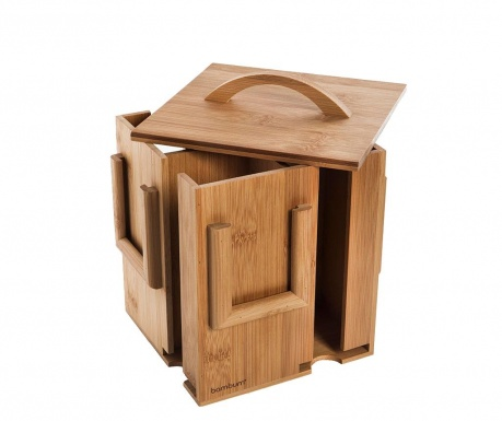 Кутия с капак за пликчета чай House
