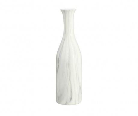 Slim Marmolado White & Grey Váza