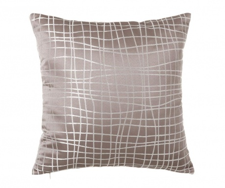 Perna decorativa Netting Old Taupe 45x45 cm
