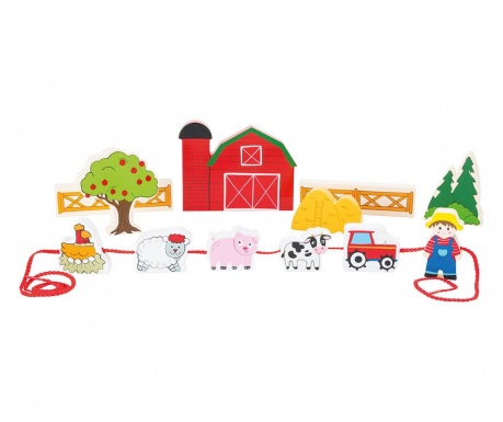 Играчка ферма 13 части Colorful
