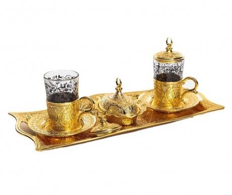 Khali Gold 9 darabos Kávéskészlet