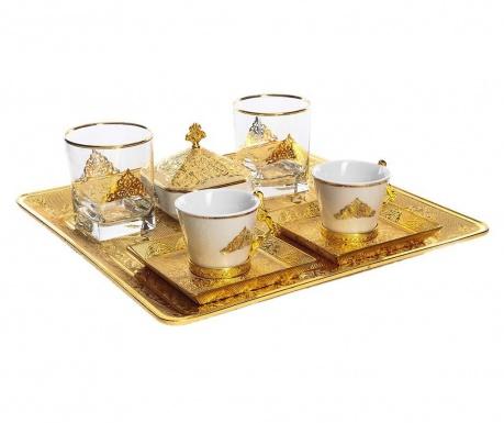 Riza Gold 9 darabos Kávéskészlet