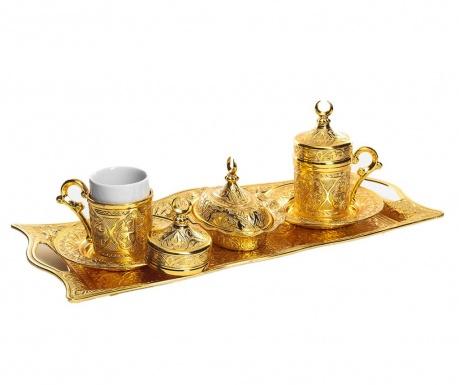 Сервиз за кафе 9 части Serail Gold