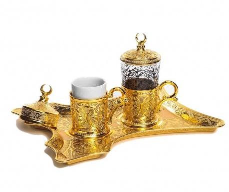 Сервиз за кафе 5 части Merve Gold