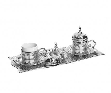 Salil Silver 9 darabos Kávéskészlet