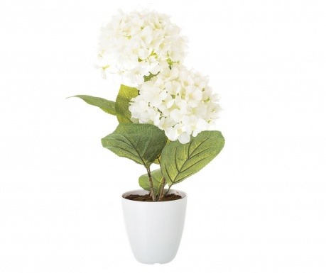 Изкуствено растение в саксия Hydrangea